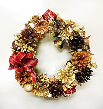 クリスマスリース01
